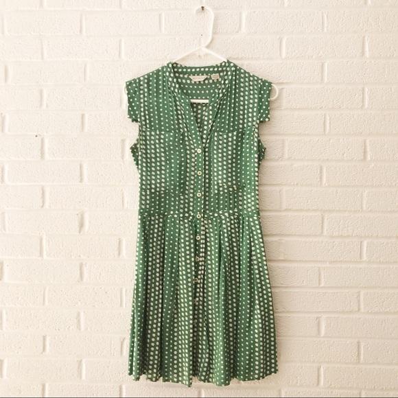 15f43a7241a1 Anthropologie Dresses | Tylho Petite Dot Dress Xs | Poshmark